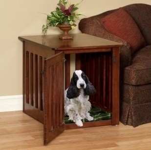 Example of lovely, yet functional dog crate